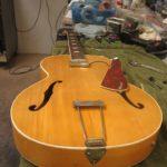 Vintage Epiphone Archtop Restoration, Neck Reset