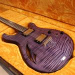misty purple grain highlight flame maple