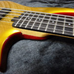 Aztec Gold Top, Rich Red Stain, Natural Neck. Finish by Gerhards Guitarworks for Citron Guitars