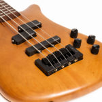 Light Amber Stain, Matte. Finish by Gerhards Guitarworks for Spector-Korg Bass