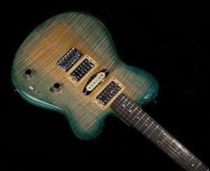 Rocket 88, Hand Sculpted Flame Maple Top