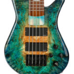 Desert Island, GLoss. Finish by Gerhards Guitarworks for Spector-Korg Bass
