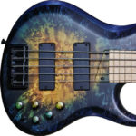 Nebula, Matte. Finish by Gerhards Guitarworks for MTD Custom Basses