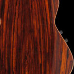 Natural Cocobolo, Gloss. Finish by Gerhards Guitarworks for Veillette Guitars.