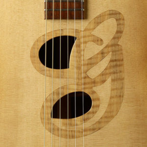 Silver Maple G Inlay